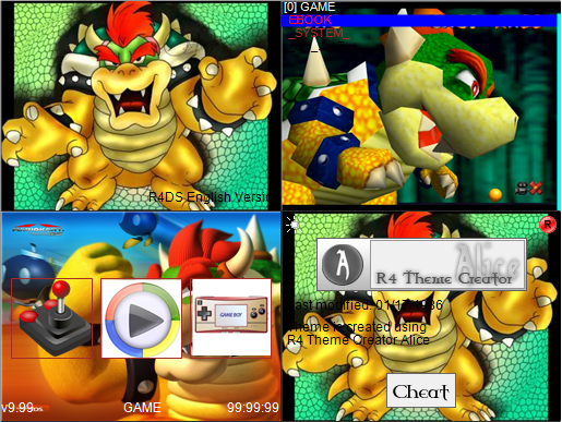 Thumbnail 1 for R4 bowser theme